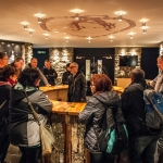 Die Verkostung von vier Highland Park Whiskys