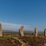 Ring of Brodgar, die Steine trotzen schon von tausenden von Jahren den Naturgewalten