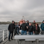 Stürmische Überfahrt zur Insel Orkney