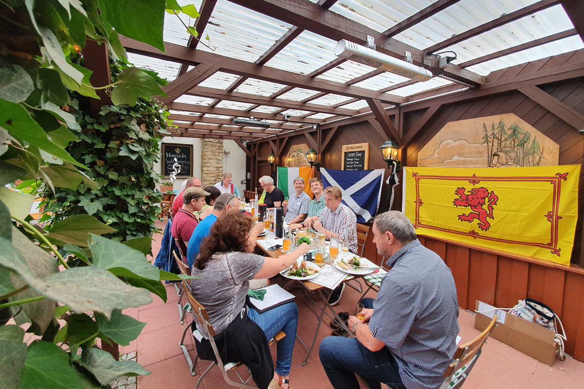 Juli Tasting des Whiskyclub Sachsen